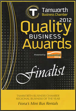 Finalist- 2012 Regional Business of the Year